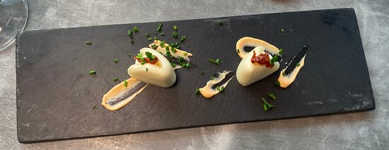 Pan Bao con mayonesa de albahaca y chile chipotle