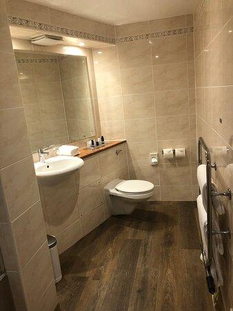 Bathroom in contemporary room