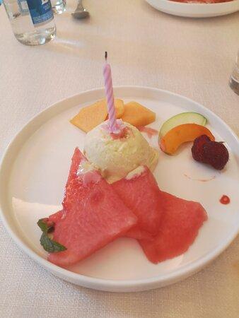 Repas offert pour nos anniversaires