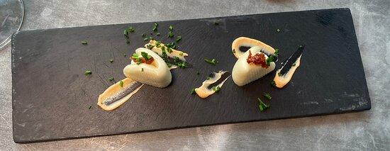 Pan Bao con mayonesa de albahaca y chile chiplotle