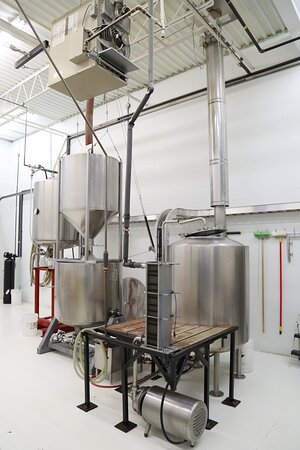 Durham Brewing Company's 10 HL brewhouse