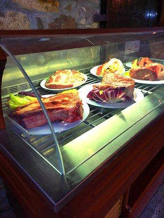 Solo una parte della nostra selezione di carne!