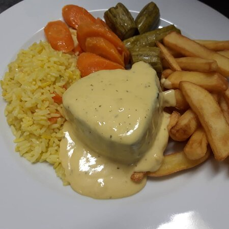 Succulent fillet steaks with choice of sauces