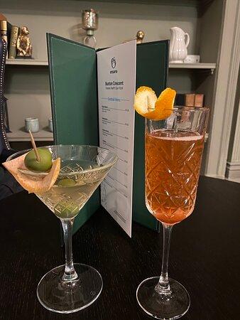 Extensive cocktails.