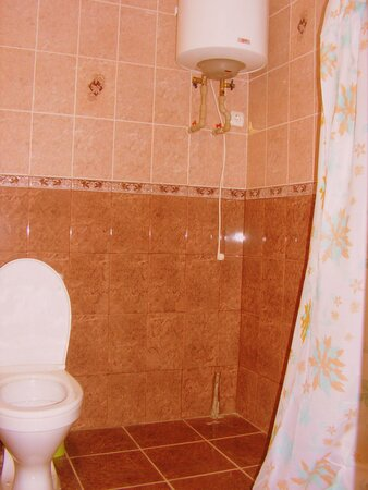 Ванная комната(6 кв.метров) в номере Люкс на третьем этаже.
