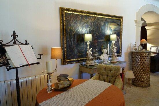 Aufenthaltsraum für Gäste