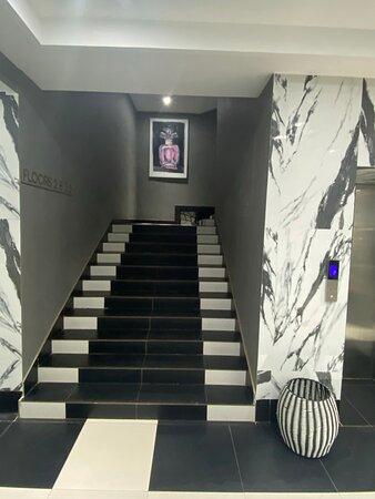 MUSE Lobby Stairs
