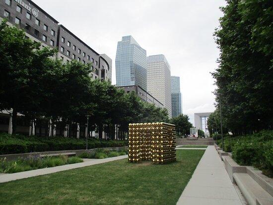 Parcours artistique de Paris La Défense