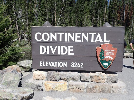 West Yellowstone, MT: Continental Divide