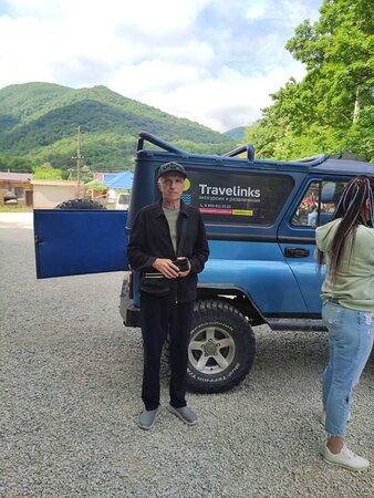 Джиппинг на пшадские водопады с компанией Travelinks