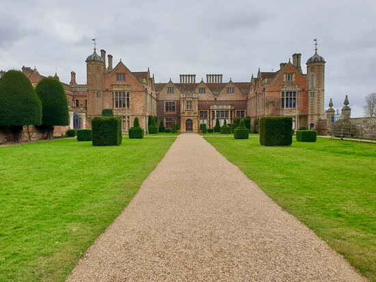 Imposing main house