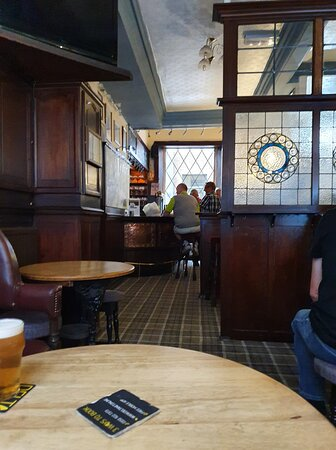 Ye Hole In Ye Wall Pub in Liverpool Buisness District