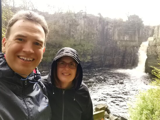 Visited on Monday 17th May 2021 High Force Waterfalls,