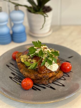 The best sweet corn fritters on the Sunshine Coast