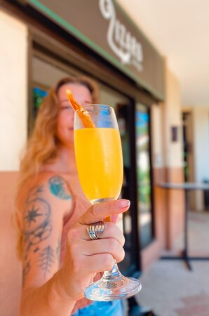 Bottomless mimosas and Brunch! Every Saturday and Sunday from 9am-2pm.