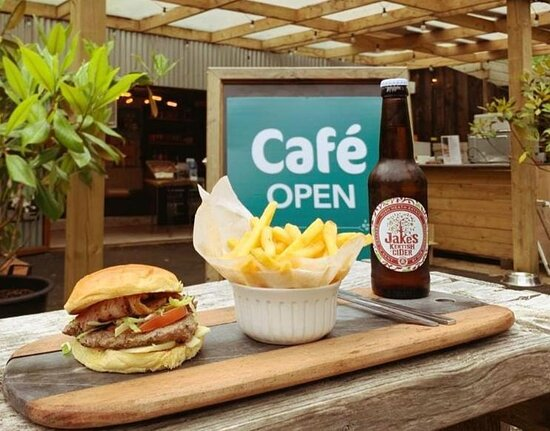 Our Café services a range of hot and cold food and has a children's menu as well