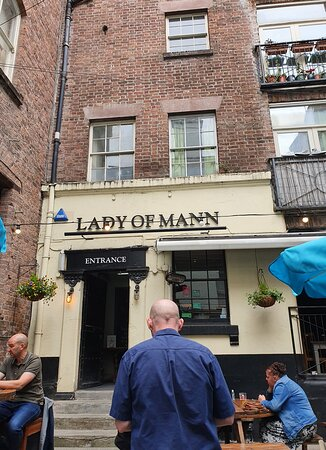 The Lady Of Mann Pub in Rigby's Building