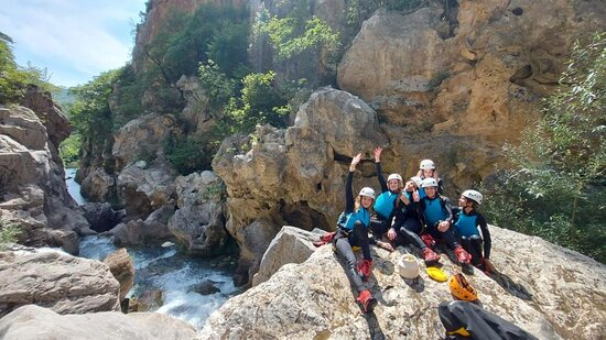 Foto Canyoning basic on Cetina river from Omiš