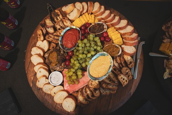 Beautiful antipasto platter from The Stoaker Room