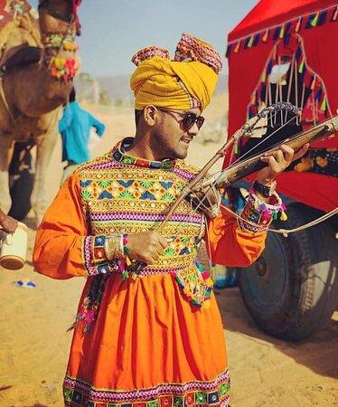 Jaisalmer desert Rajasthan