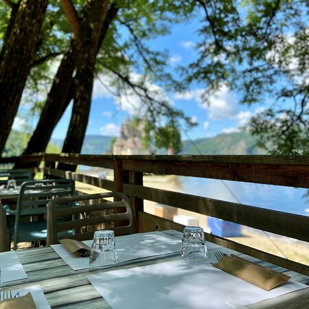 Le Relais Valcastel - Sa terrasse