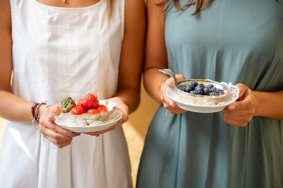 Frische Früchte zum Frühstück