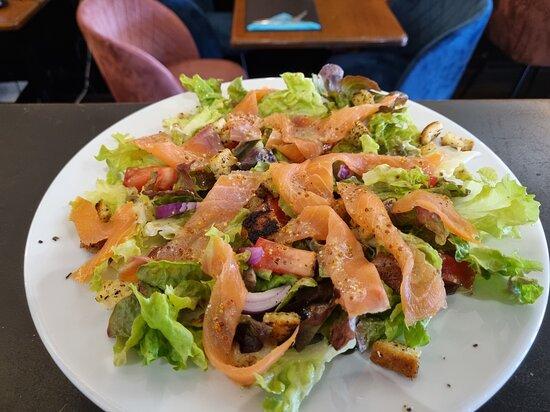 La salade de Saumon
