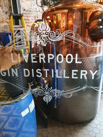 Liverpool Gin Distillery in Liverpool Commercial District