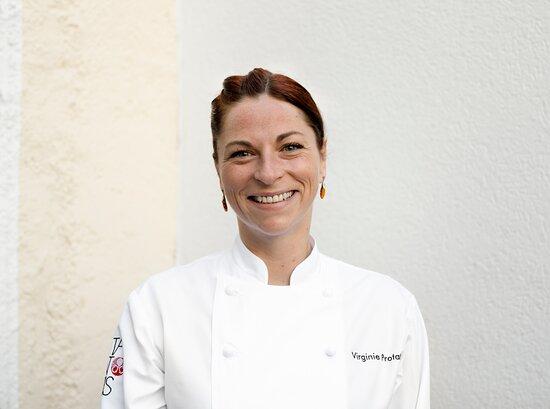 Küchenchefin Restaurant Tantris DNA: Virginie Protat