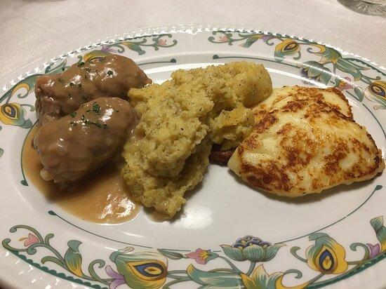 Polenta, salsiccia e tosela