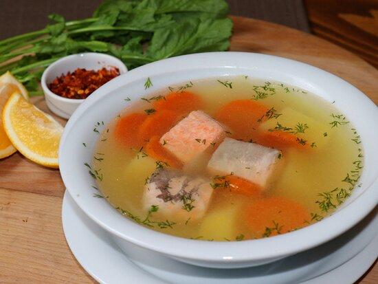 Ukha ( Salmon Soup)