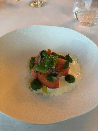 Tomato salad, delicious