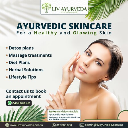 Sídney, Australia: Toxic accumulation due to an unhealthy diet and improper lifestyle is one of the prime reasons for Skin diseases. Ayurveda provides natural solutions to help heal an array of Skin diseases like Eczema, Psoriasis, Rosacea and more. Ayurvedic treatments not just help in reducing skin disease symptoms but also provide holistic wellness. Our Services are claimable from some private health funds. (depends upon your coverage), On-site Parking is available. Feel free to call us 02 7805 6110