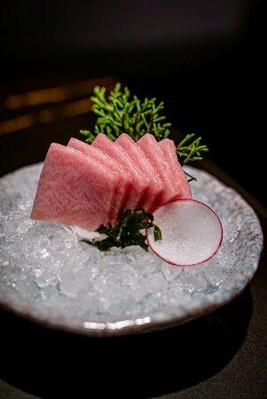 Sashimi de toro