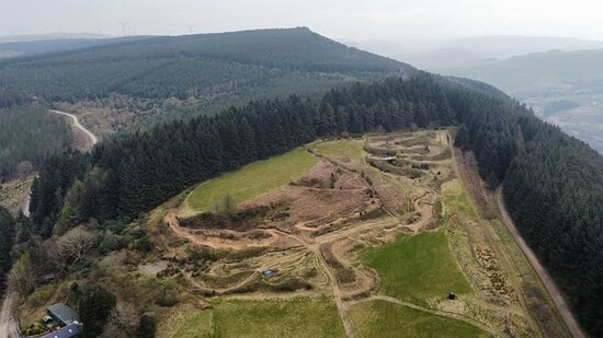 Drone Footage of site 2021.