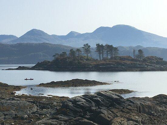Canoeing on the West coast of scotland
