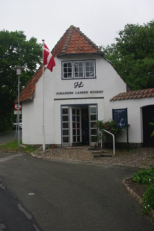 Indgangen til museet