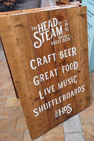 The Head Of Steam Park Row Leeds.