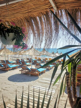 Best place to eat and enjoy sun in Lukovë beach