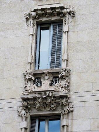 Particolare della facciata