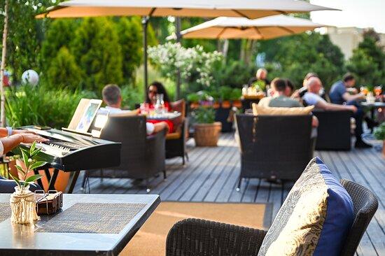 SPA VILNIUS summer terrace