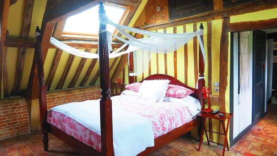 le lit romantique