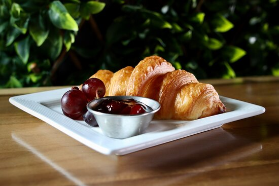 Fresh baked pastries.