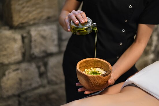 Mediterranean Olive Oil Treatment.