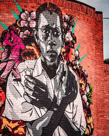 Street art as a tribute to the afro-descentan