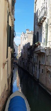 Veneza, Itália: Vista dalla Camera Matrimoniale con ca'Pesaro sullo sfondo