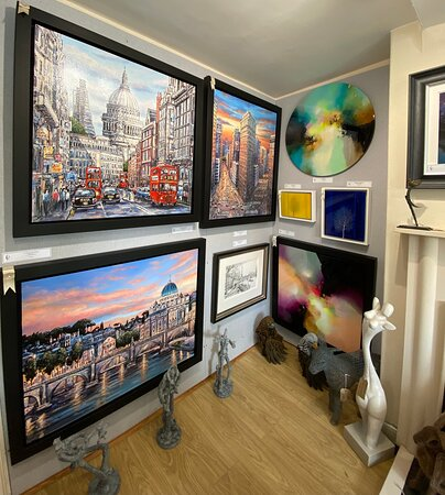 Artwork by Phillip Bissell, Gary Foorde and Nakisa Seika, available at The Acorn Gallery, Pocklington, Nr York. Delivery available.