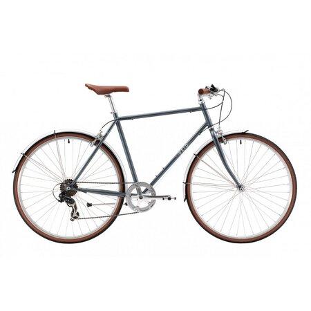 """Bicicleta urbana de hombre Reid Roller 28"""" 7 velocidades. Envío gratuito en 24/28h. https://lapedaleria.es/bicicleta-urbana-reid-roller-7-velocidades/"""
