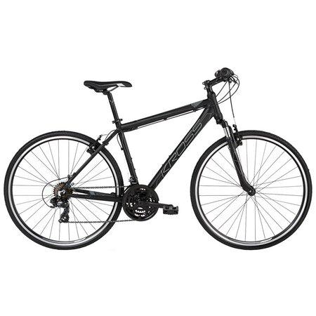 Bicicleta híbrida KROSS Evado 1.0 de hombre. Envío gratuito en 24/48h. https://lapedaleria.es/bicicleta-hibrida-kross-evado-1-0/