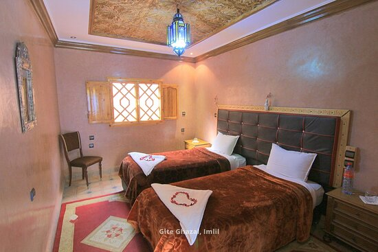 Room at Hotel Ghazal in Imlil, Morocco